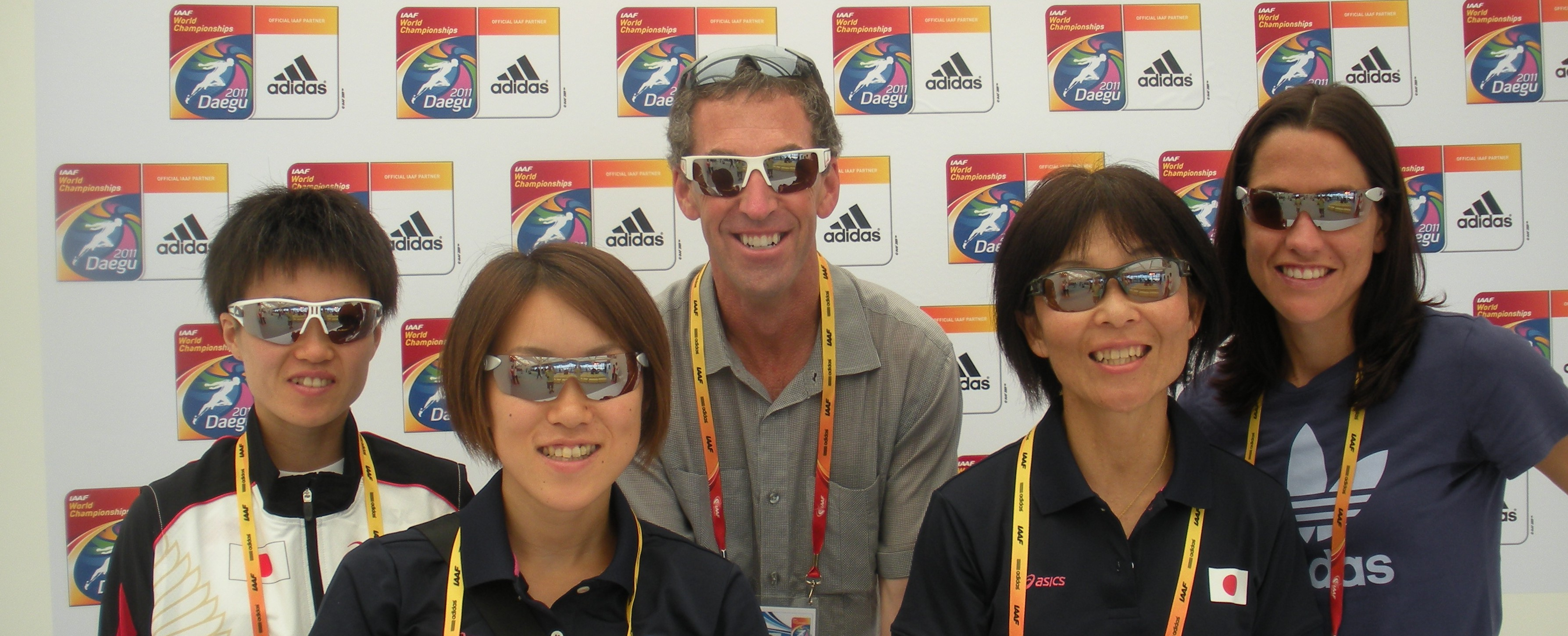 2009 Daegu adidas hospitality sunglasses